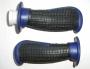 Анатомические ручки руля черно-синие