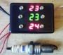Скутерок-Т3. Три электронных термометра в одном корпусе.