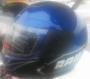 Шлем черно-синий (размер М)